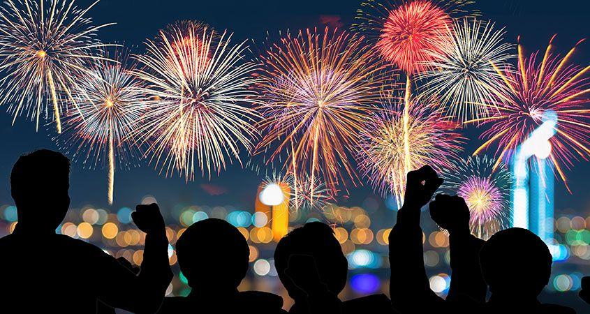 4 Kota dengan Pesta Kembang Api Terbaik untuk Menyambut Tahun Baru 2019