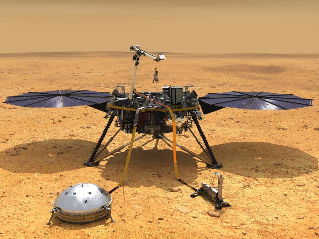 InSight NASA Mungkin Telah Melakukan Pengamatan Gempa Bumi Pertama di Mars